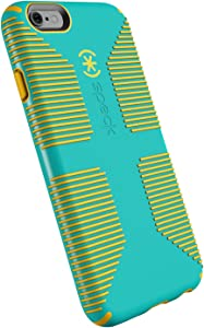 Speck Products CandyShell Grip Cell Phone Case for iPhone 6, iPhone 6S - Caribbean Blue/Zest Yellow
