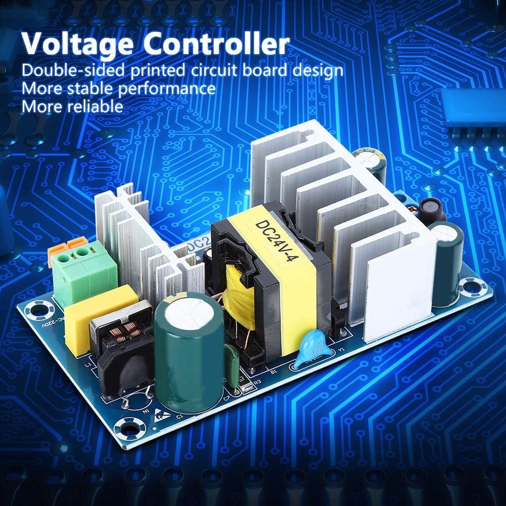 YOPOTIKA Switch Power Board Ac 220V to Dc 24V 100W 4A-To-6A Entrada de Controlador de Voltaje Ac85-265V Accesorio El/éctrico