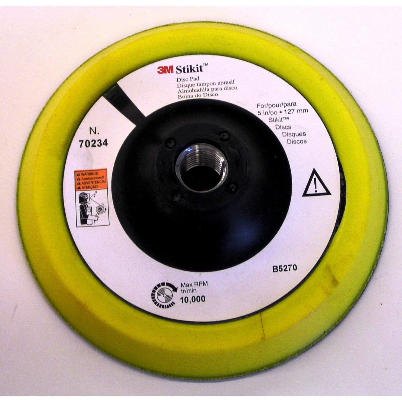 3M Stikit Disc Pad 70234, 5 in x 1/2 in 5/8-11 Internal