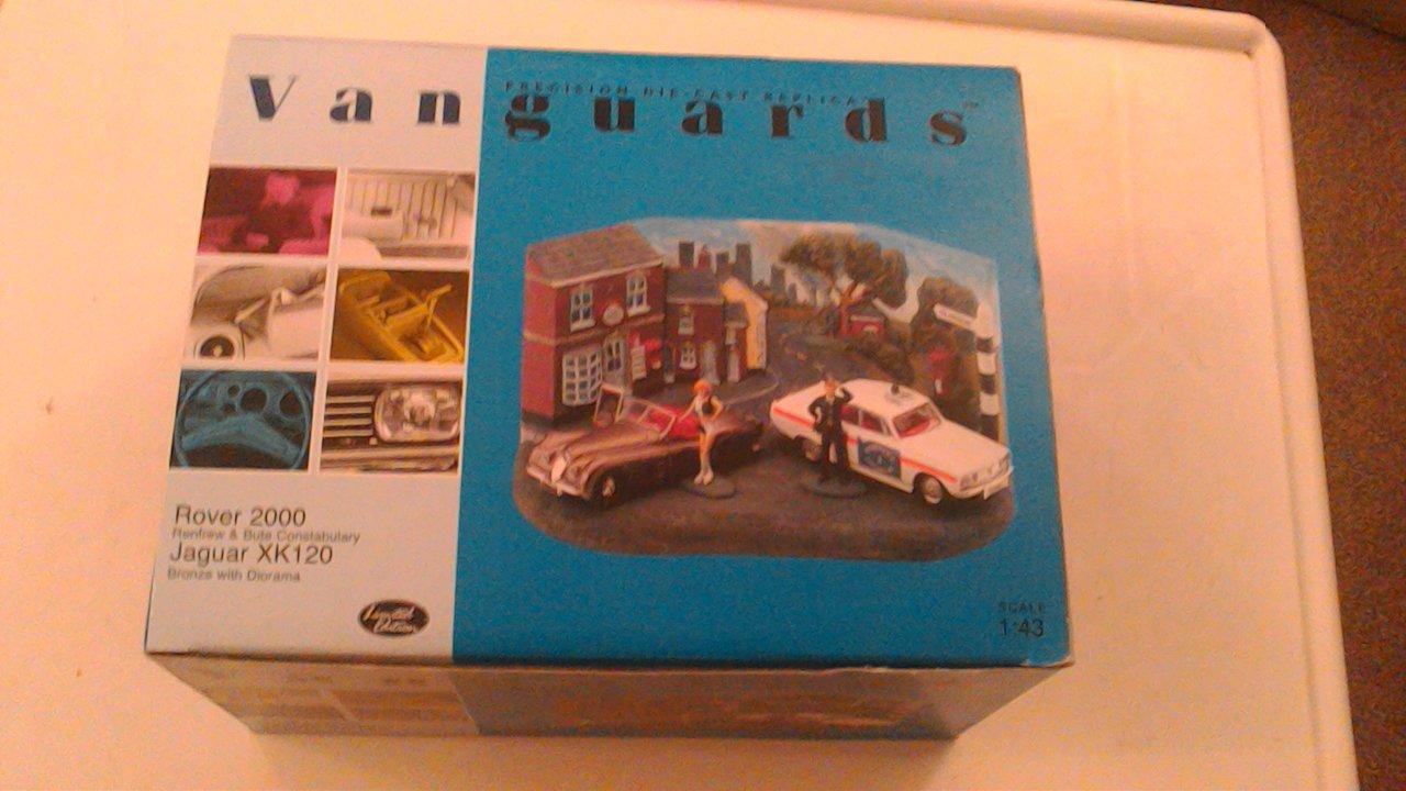 Vanguards 1/43 PD1002 Rover 2000 & Jaguar XK120 Renfrew Diorama B008J1W11I