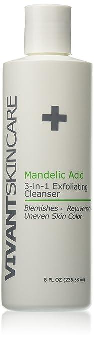 Vivant Skin Care BP 3% Exfoliating Cleanser 8 Ounce IMAGE Skincare Ormedic Balancing Gel Masque 12 Oz
