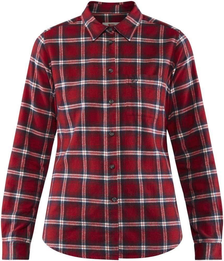 FJALLRAVEN Damen Övik Flannel Shirt W Hemd