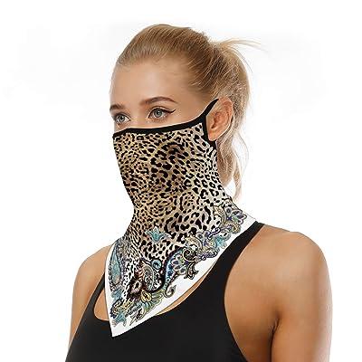 Balaclavas Bandana Triangle Scarf Neck Tube Ear Hanging Face Cover Neck Gaiter