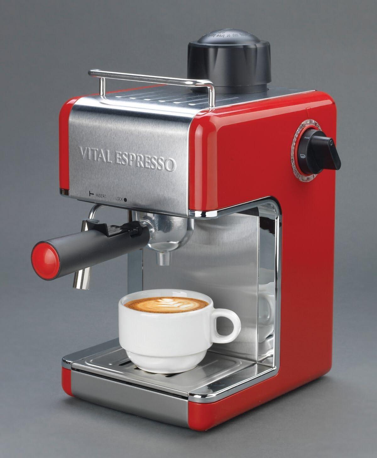 Vital Home - Cafetera Italiana Espresso: Amazon.es: Hogar