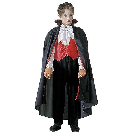 Costume Bambino Vampiro Taglia 140 cm   8-10 Anni  Amazon.it  Giochi ... 63e29af6ffc3