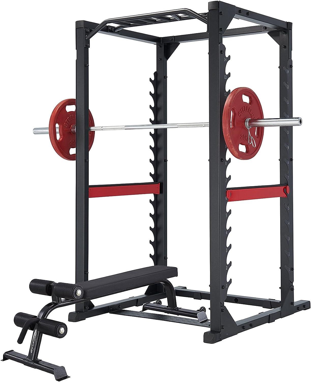 Steelflex® Club Line Power Rack 380 Gym Pack: Amazon.es: Deportes y aire libre