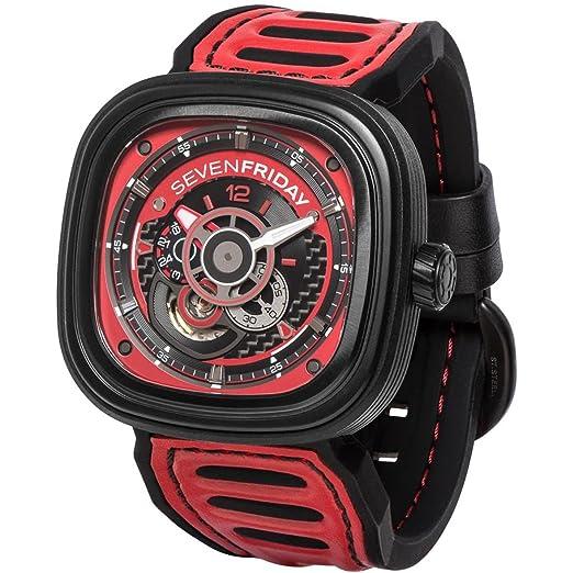 Seven Friday Racing Team Reloj de Hombre automático 48mm P3B-06: Amazon.es: Relojes