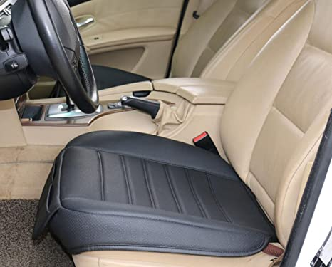 EDEALYN PU Leather Soft Car Seat Cover Pad Mat For Office Chair Cushion Covers