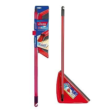 Vileda Duactiva Escoba anti polvo con mango telescópico, plástico, Rojo, 8 x 28.5 x 81 cm: Amazon.es: Hogar