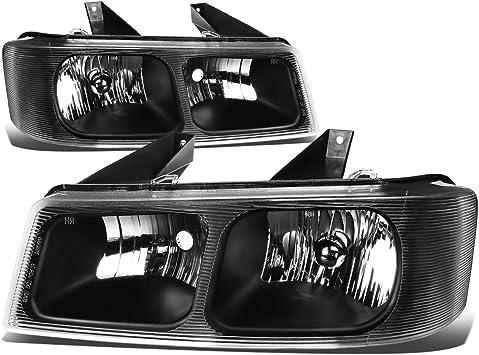 Fits 03-17 Chevy Express /& GMC Savana Left Driver Composite Headlamp Assembly