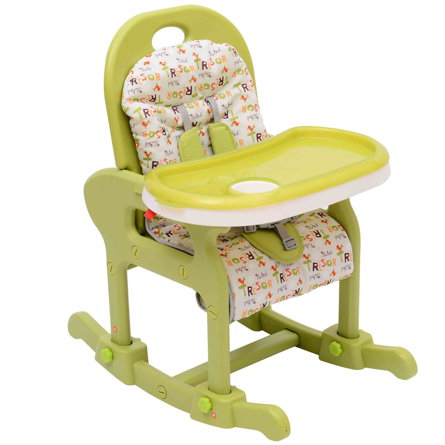 Hom Baby Toddler Rocking Feeding Highchair Booster Seat