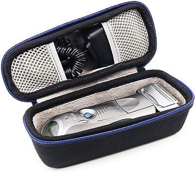 Duro Viaje Estuche Bolso Funda para Braun Series 5 7 9 7898cc 799cc 9090cc 9075cc 5090cc 5050cc 5030S Afeitadora eléctrica para hombres por GUBEE: Amazon.es: Salud y ...