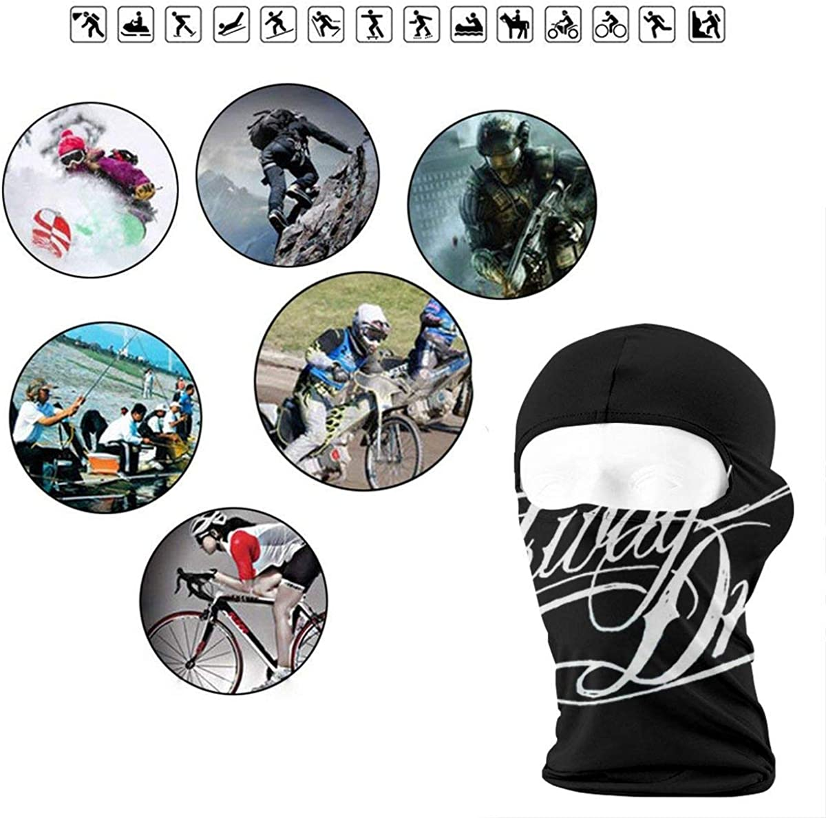 Parkway Drive Soft Outdoor Sunscreen Hairband For Men And Women