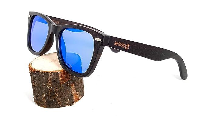 Amazon.com: Gafas de sol de madera hechas a mano, estilo ...
