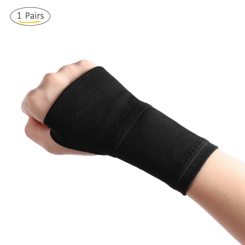 NIUBUFAN Avanzada Muñ equera Apoyo - Compresió n la Ayuda de Muñ eca Ideal para Protecció n de la Carpiano Envolturas para aliviar el Dolor por Artritis, esguinces, tú nel carpiano, tendinitis túnel carpiano