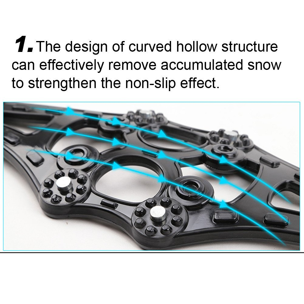 Snowy Sand Ground Emergency Snow Tyre Chains Anti-slip Anti Snow Chains for Car 4PCS// Pack Car Tire Anti-Skid Chain Molie Anti Snow Chains of Car