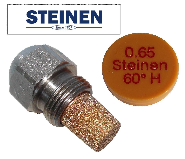Steinen ugello per bruciatori a gasolio, 0.65 USgal/h, angolo di spruzzo (polverizzazione) 60° , tipo HT angolo di spruzzo (polverizzazione) 60°