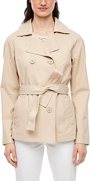QS designed by s.Oliver Trenchcoat klassische Damen Jacke