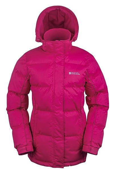 Mountain Warehouse Chaqueta acolchada de nieve para mujer Rosa brillante  36  Amazon.es  Ropa y accesorios 6d1c5da06bc