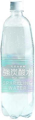 【Amazon.co.jp限定】友桝飲料 天然水 強炭酸水(プレーン) 1L×15本