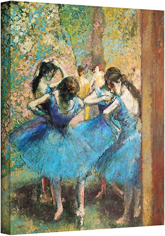 "Prima Ballerina  by Edgar Degas  20/""x26/""  Canvas Print"
