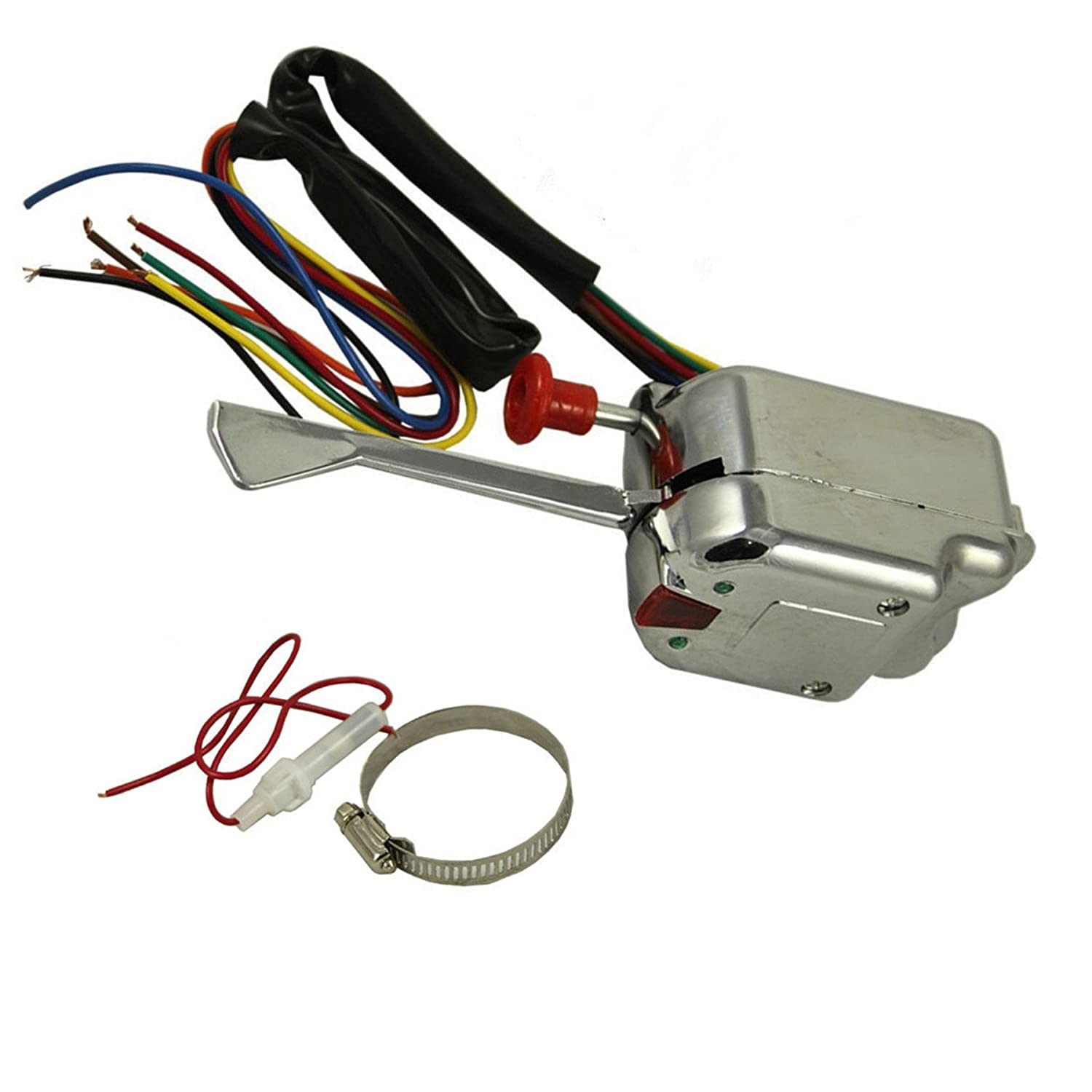 Wilk New Universal Street Hot Rod Chrome Turn Signal Dune Buggy Wiring Harness Switch For Buick Ford Gm 12v Heavy Duty Vintage Car Truck Sand Rail