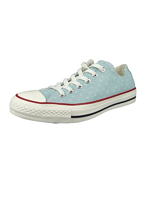 Converse Ctas Ox Sneaker Unisex Adulto Blu Ocean Bliss 456 43 EU