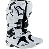 Alpinestars Tech 10 Men's Off-Road Motorcycle Boots - White Vented / 11