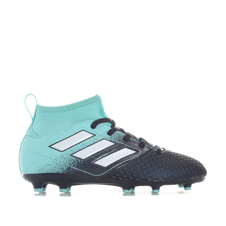 adidas Ace 17.3 FG Kids Soccer Boot Navy/Aqua Ocean Storm - US 4