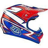 Troy Lee Designs Charge Air MotoX/Off-Road/Dirt Bike Motorcycle Helmet - White/Blue / Small