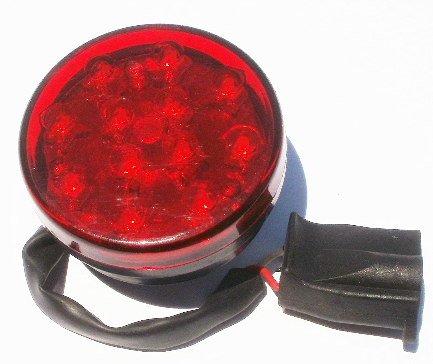 Waterproof Red LED Boat Camper ATV Trailer Light EZ Fix