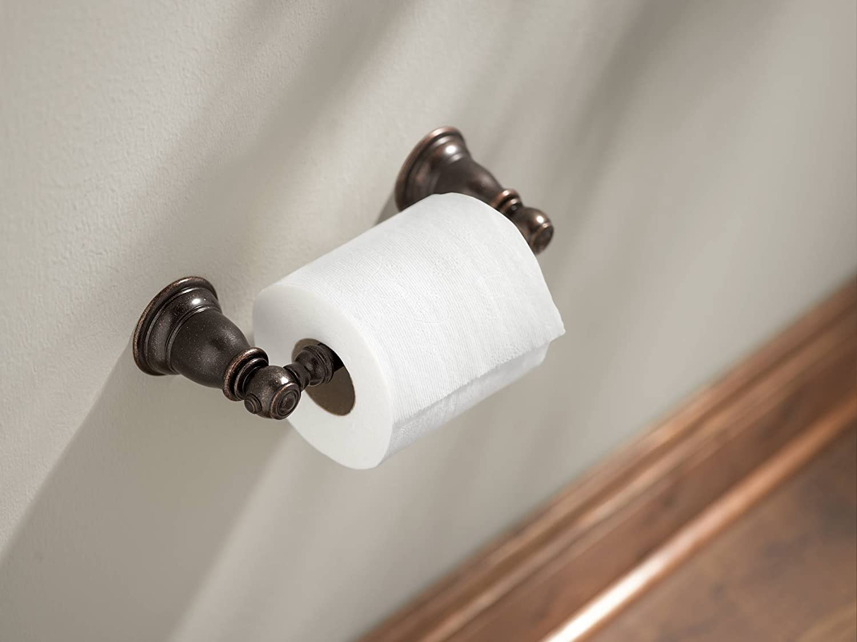 Moen YB5408ORB Kingsley Pivoting Toilet Paper Holder Oil-Rubbed Bronze