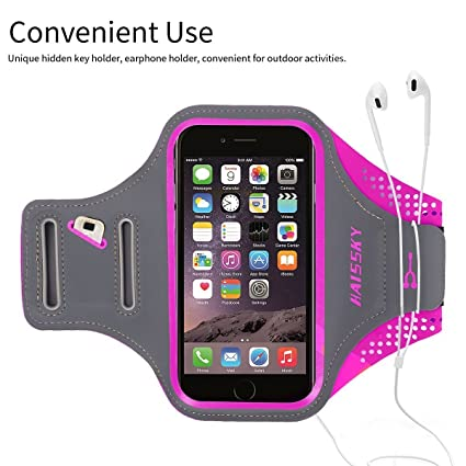 Devoted Running Mobile Phone Bag Walking Arm Set Waterproof Arm Bag Men And Women Fitness Universal Sports Bracelet Bag For Iphone 7 Armbands