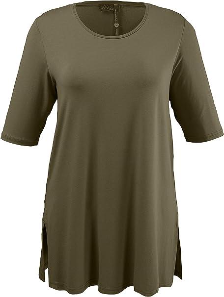 ULLA POPKEN T-Shirt Rundhals hellgrün NEU