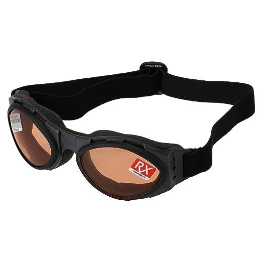 Amazon.com: Bobster T4583 Bugeye Goggles, Black Frame/Amber Lens ...