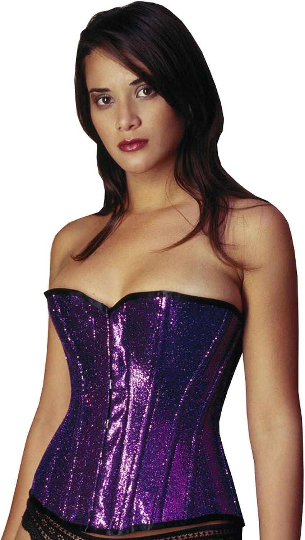 Purple Over Bust Corset