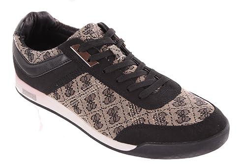 GUESS Zapatos de Cordones Para Hombre Negro Negro 42 1gCPxk