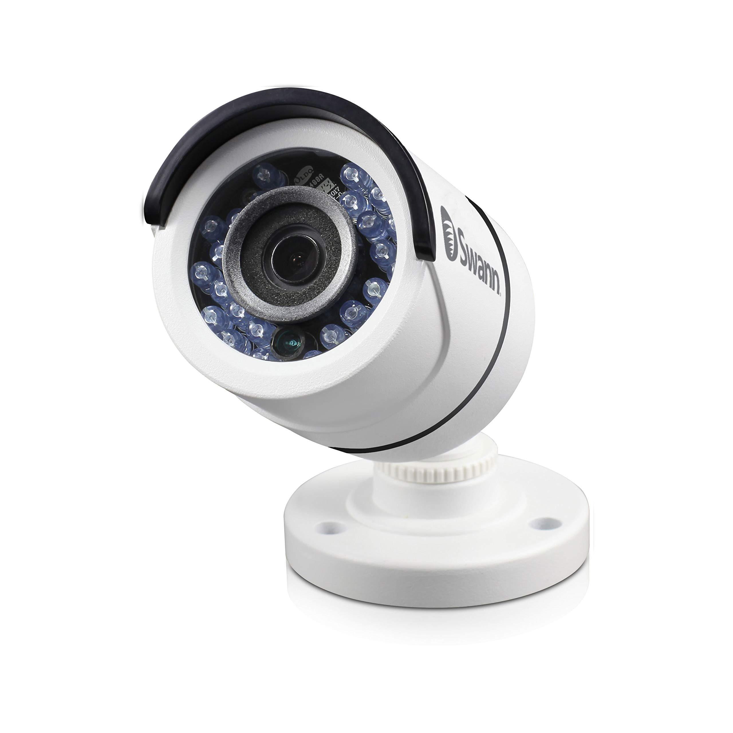 Swann SWPRO-T890CAM-US, Pro-T890 CCTV 5MP TVI White Analog Bullet Camera by Swann