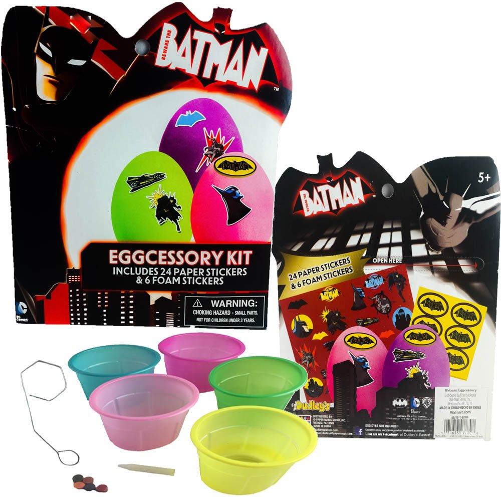 Batman Easter Eggs And Egg Decorating