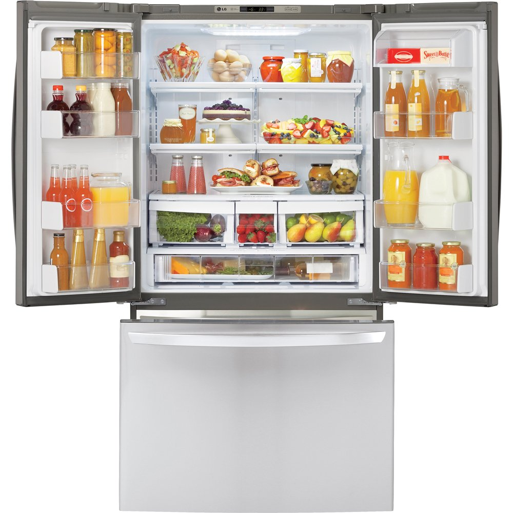 Ft. Stainless Steel Counter Depth French Door Refrigerator   Energy Star:  Appliances