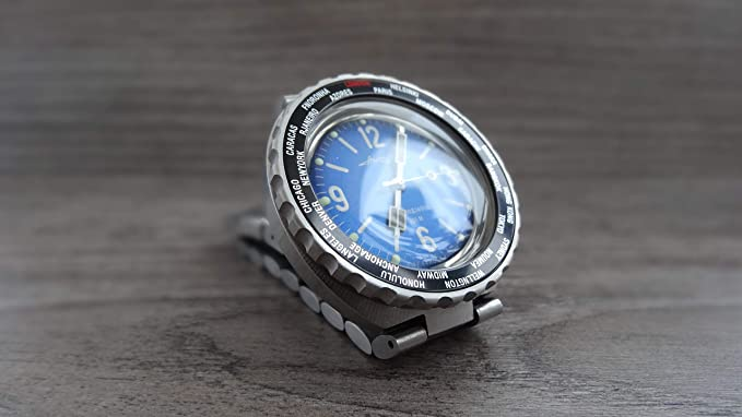 Amazon.com: Bezel Toothed Type Stainless Steel to Vostok Amphibian Watch w/o Insert: Watches