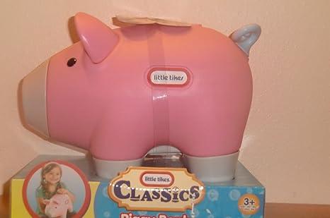 Little Tikes Classics Large Pink Piggy Bank