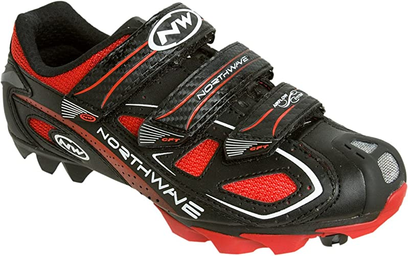 Northwave Calma Zapatos MTB/Spinning Rebel 3 V Black/Red Size 40 ...