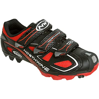 Northwave Calma Zapatos MTB/Spinning Rebel 3 V Black/Red Size 40: Amazon.es: Zapatos y complementos