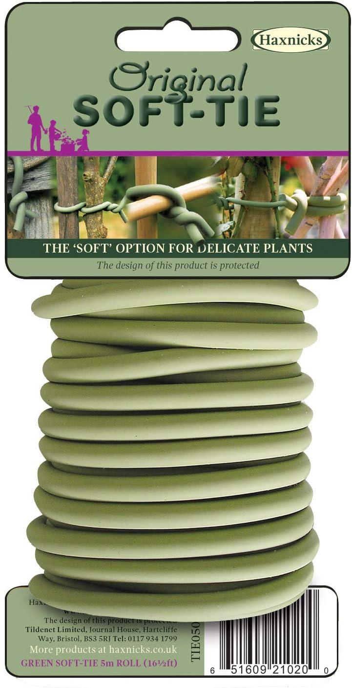 Tierra Garden 50-3000 Tie050101 5 m Original Soft Tie, 16.4', Green