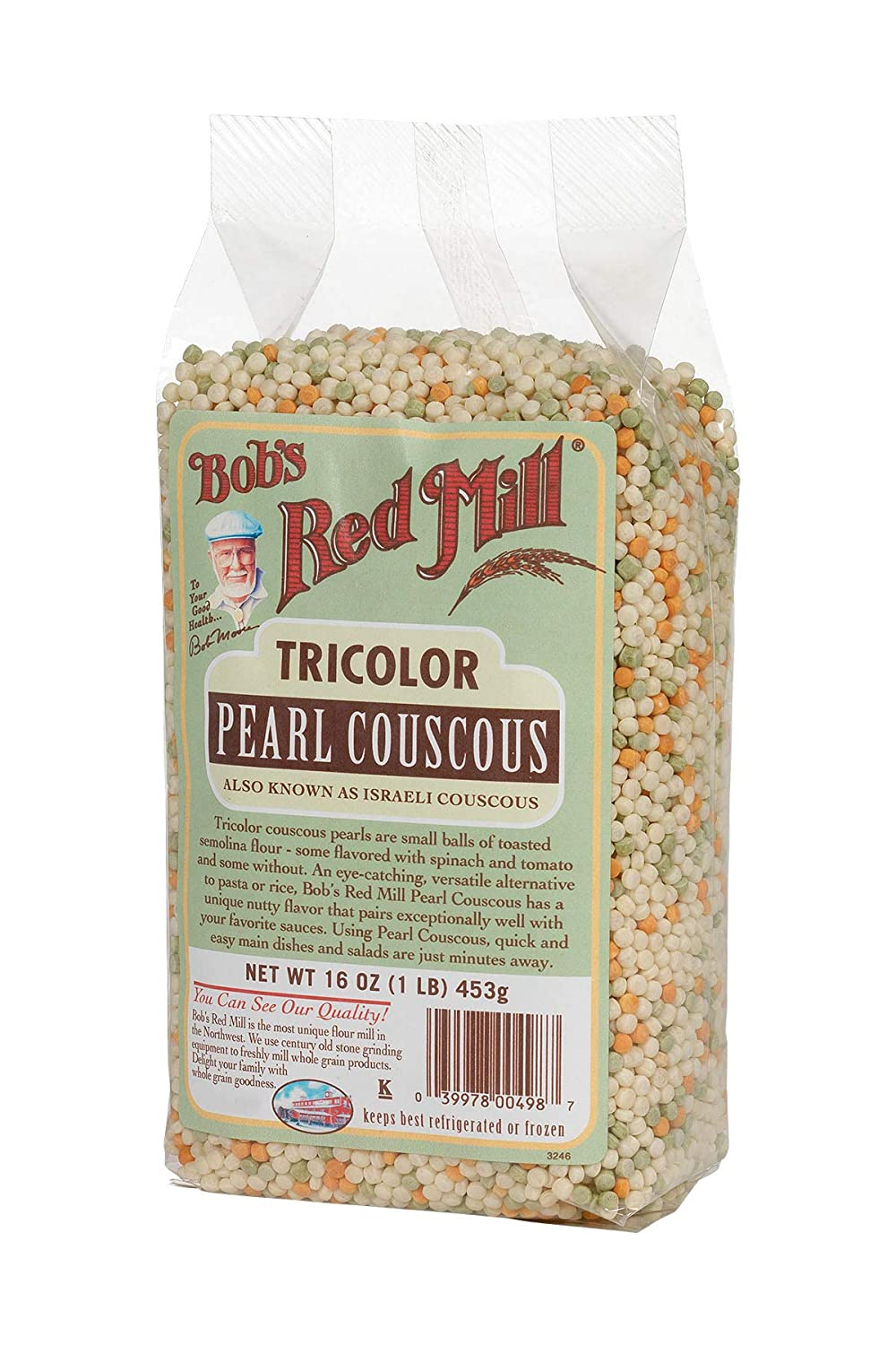 Amazon.com : Bobs Red Mill Couscous Pearl Tri-Color, 16 oz : Grocery & Gourmet Food