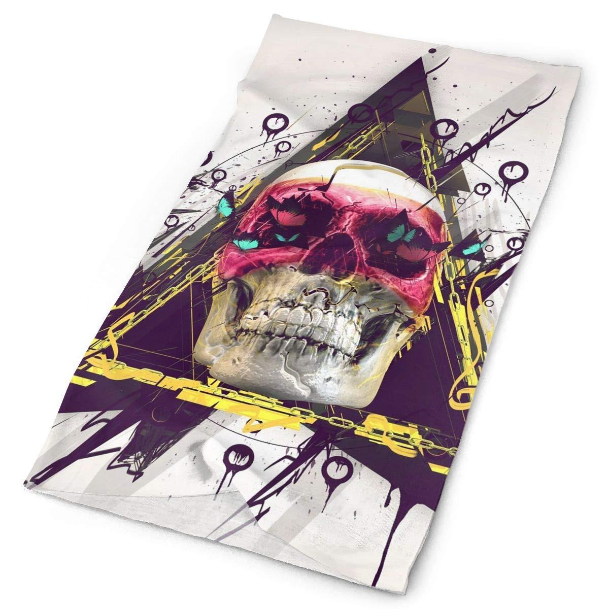 Headbands Skull Gallery Headwear Bandana Sweatband Gaiter Head Wrap Mask Neck Outdoor Scarf