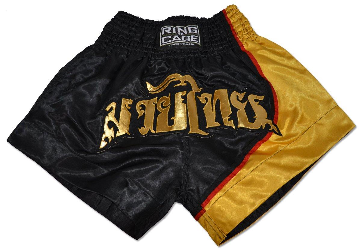 タイ式Shorts – ブラック タイ式Shorts Small/ゴールド Small B071VRQFG3 B071VRQFG3, イバラシ:8053bd49 --- capela.dominiotemporario.com