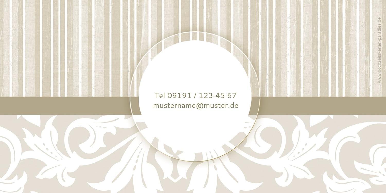 Kartenparadies Danksagung Danksagung Danksagung für Hochzeitsgeschenke Hochzeit Dankeskarte Streifenzauber, hochwertige Danksagungskarte Hochzeitsglückwünsche inklusive Umschläge   20 Karten - (Format  215x105 mm) Farbe  champagner B01N4QKBDP   Discount    0e2aa6