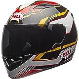Bell Qualifier  Full-Face  Motorcycle Helmet (Torque Black/Gold, Medium)(Non-Current Graphic)